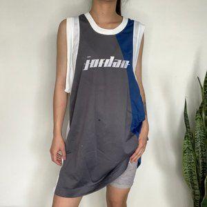 Air Jordan Blue + Grey Jersey